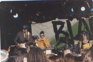 Shy Five at the Channel with Black Uhuru