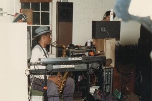 Jeff Robinson in the studio